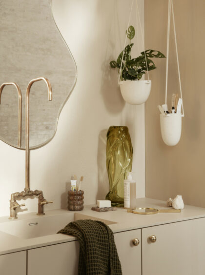 Speckle pot (Ferm Living)