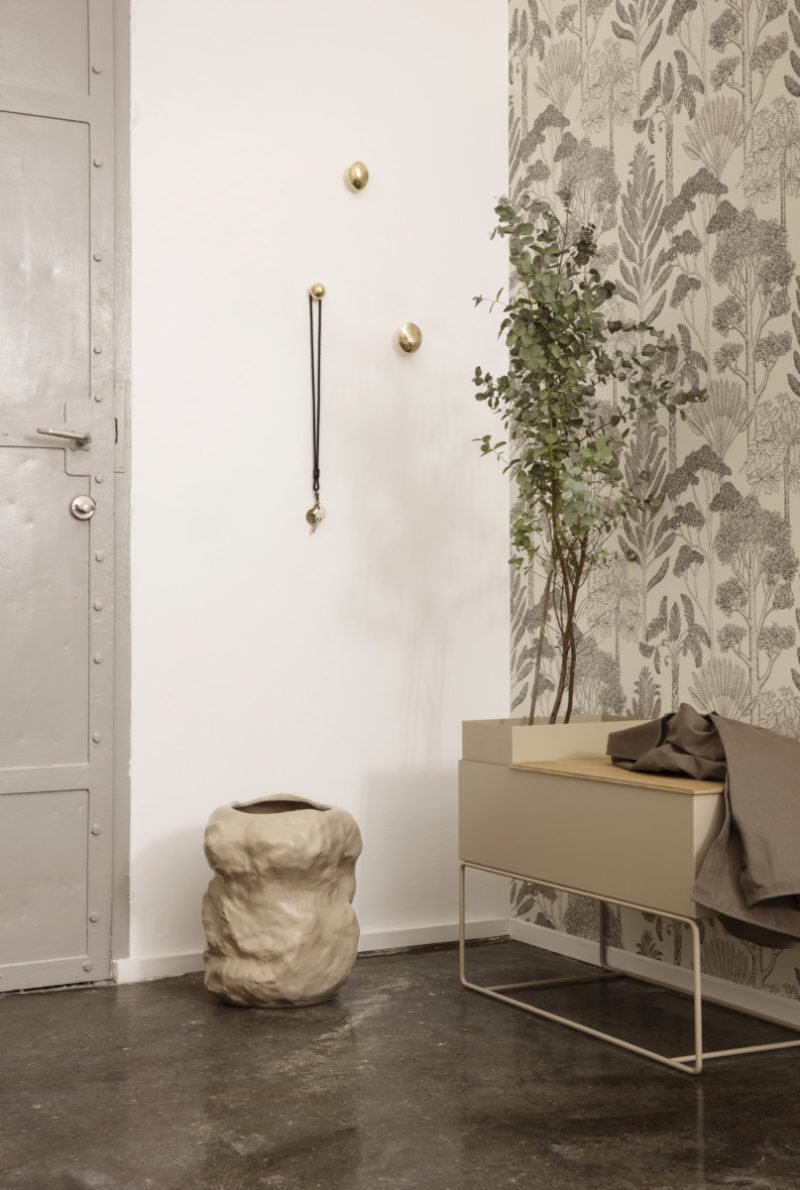 Katie Scott Wallpaper – trees (Ferm living)