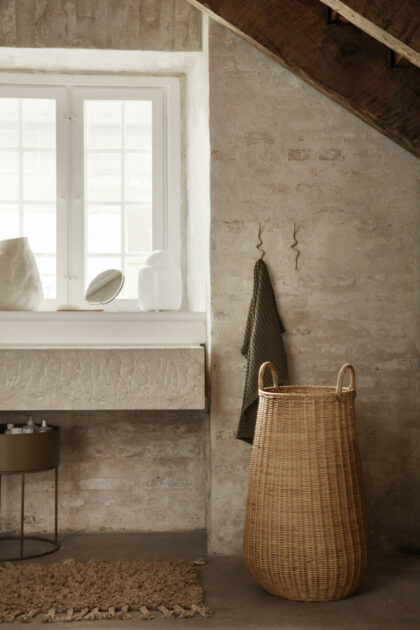 Braided Laundry basket (Ferm Living)