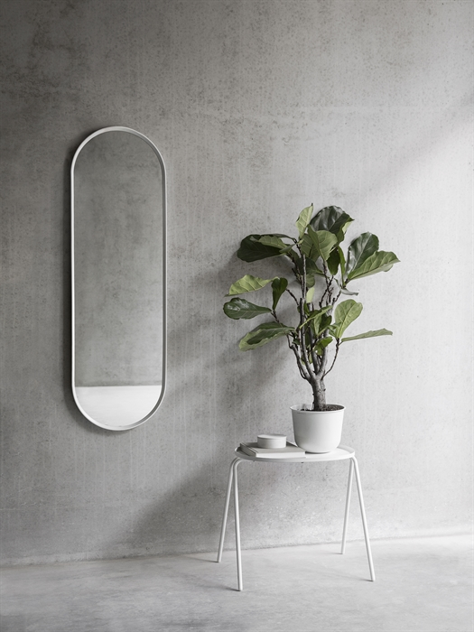 Menu Norm Wall Mirror Oval white