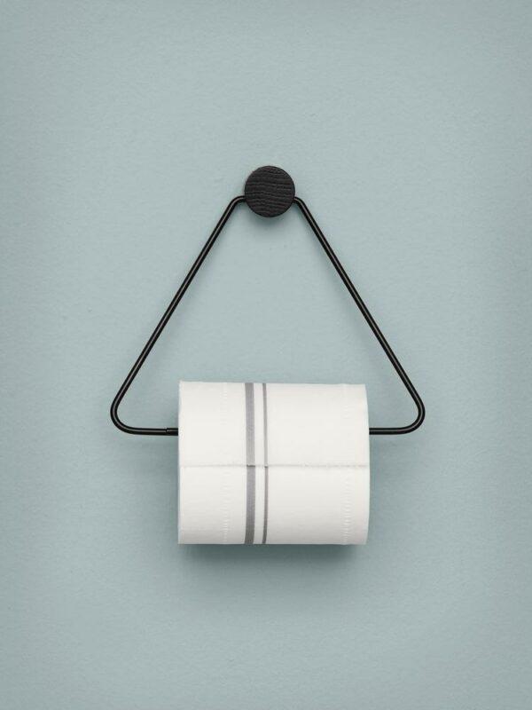 Toilet Paper Holder Black (Ferm living)