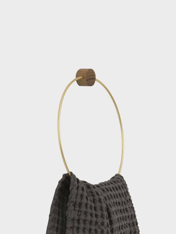 Towel hanger brass (Ferm living)