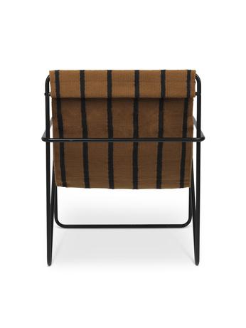 Desert Lounge Chair - Black (Ferm Living)
