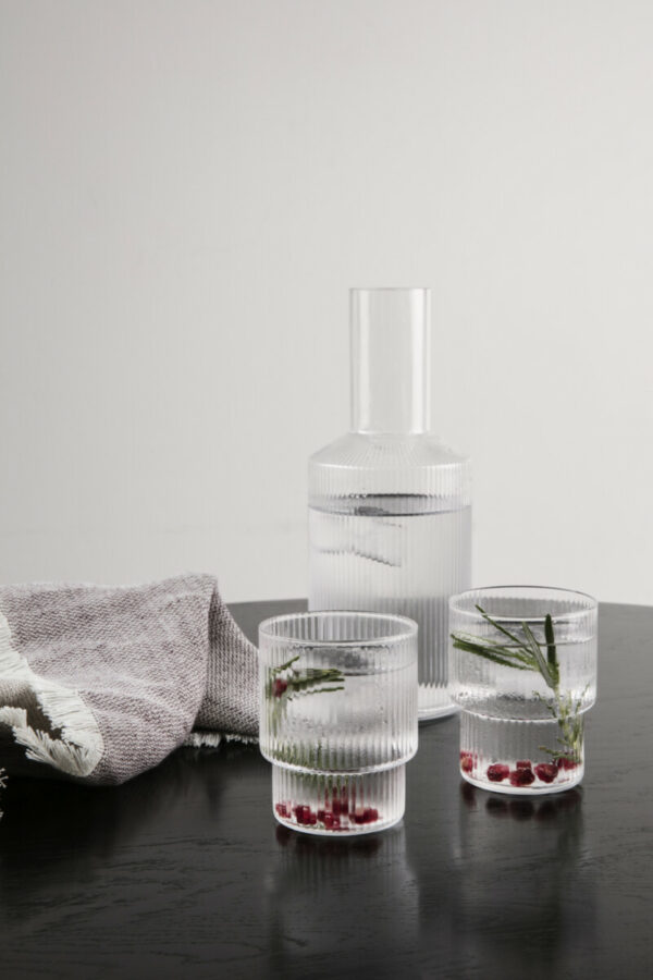 Ripple glass (Ferm Living)