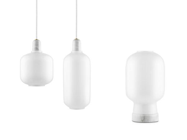 Amp Lamp opal (Normann Copenhagen)