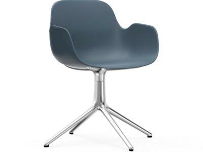 form armchair swivel alu (Normann Copenhagen)