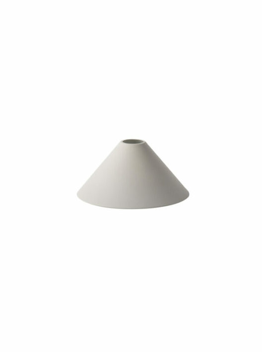 cone shade lichtgrijs- Collect Lighting (Ferm Living)