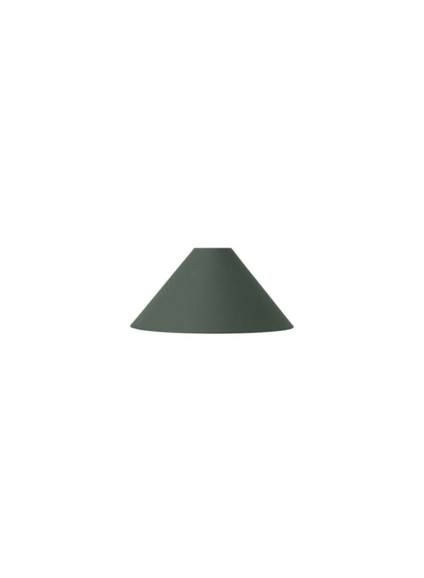 cone shade donkergroen- Collect Lighting (Ferm Living)