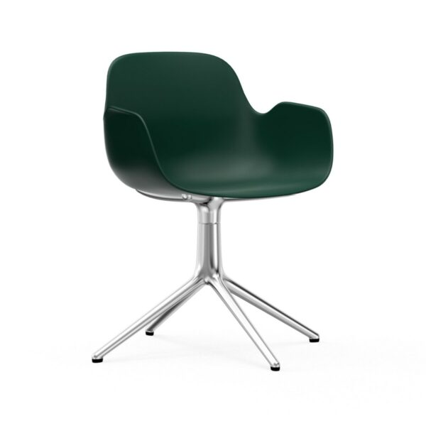 form armchair swivel alu (Normann Copenhagen)
