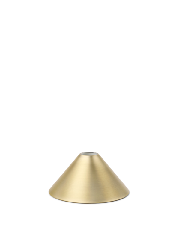 cone shade messing- Collect Lighting (Ferm Living)