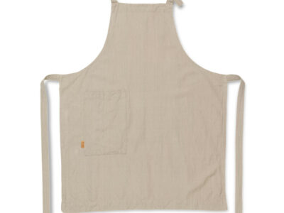 Hale keukenschort zandkleur (ferm Living)