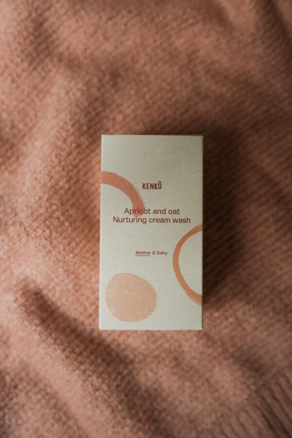 Apricot and Oat Nurturing cream wash (Kenko)