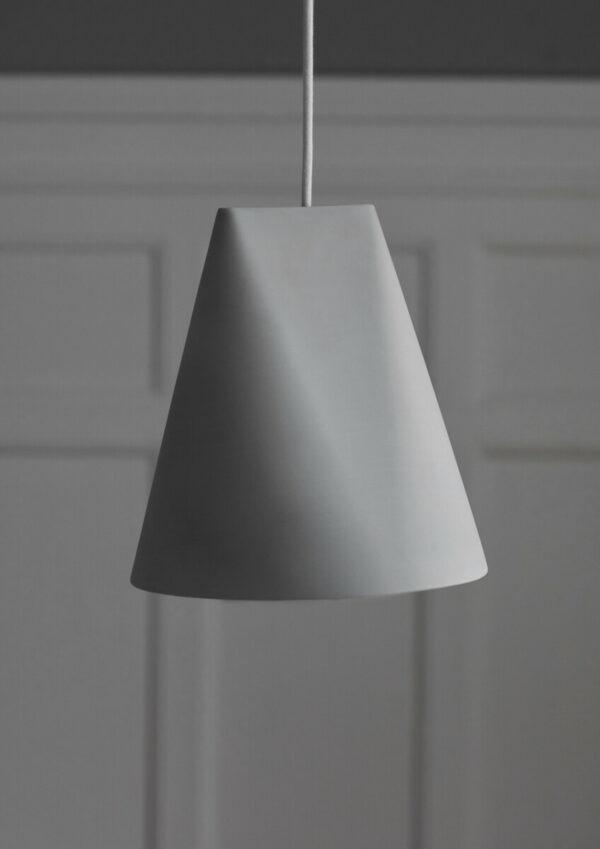 hanglamp ceramic pendant grijs (Moebe)