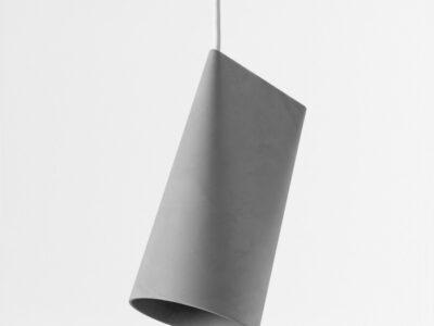 hanglamp ceramic pendant grijs small (Moebe)