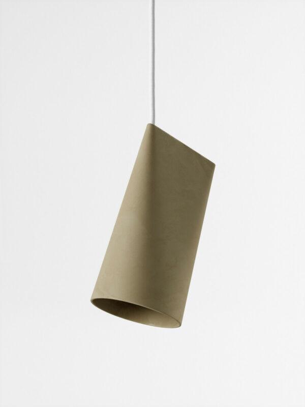 hanglamp ceramic pendant olive small (Moebe)