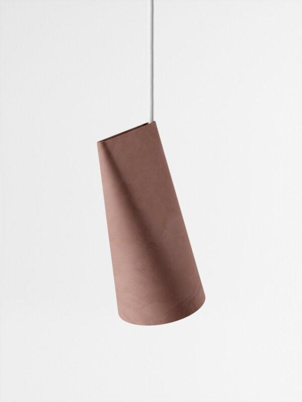 hanglamp ceramic pendant terracotta small (Moebe)