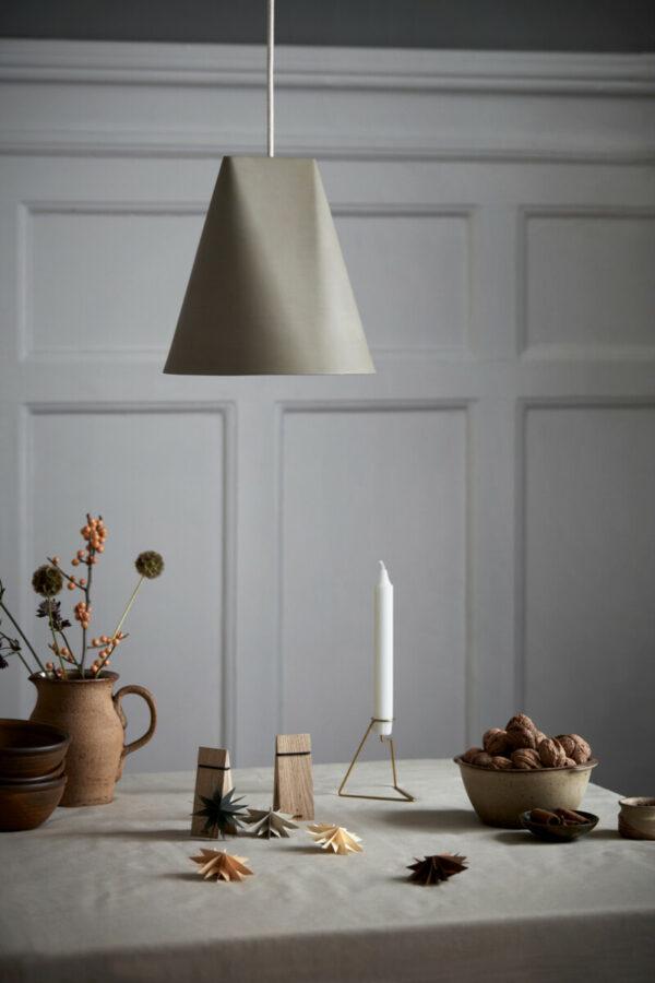 hanglamp ceramic pendant olive (Moebe)
