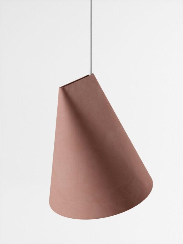 hanglamp ceramic pendant terracotta wide (Moebe)