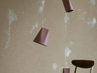 hanglamp ceramic pendant terracotta (Moebe)