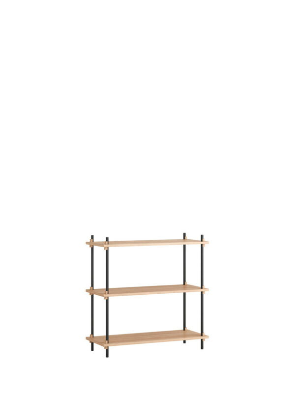 shelving system set 01 low single (Moebe)