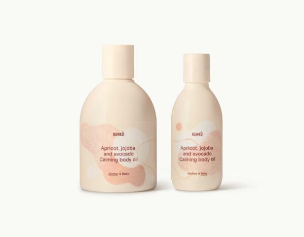 Apricot, Jojoba and Avocado Calming body oil (Kenkô)