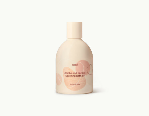 Jojoba and Apricot Soothing bath oil (Kenkô)