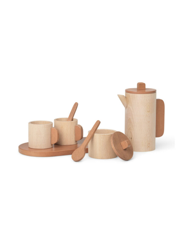 Toro houten theeset (Ferm Living)