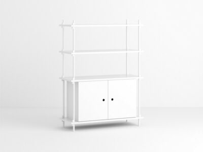 Shelving system set 10 (Moebe)