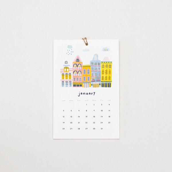 home, rain or shine kalender (pansy)