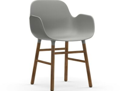 form armchair walnoot (Normann Copenhagen)