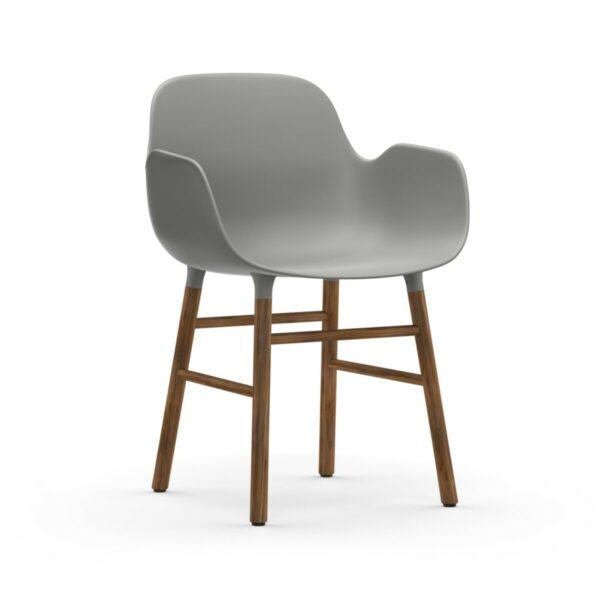 form armchair walnoot (Normann Copenhagen)