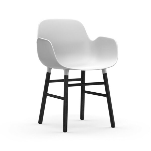 form armchair zwart (Normann Copenhagen)
