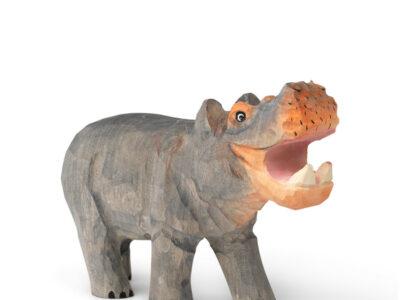 Houten speelgoed nijlpaard (Ferm Living Kids)