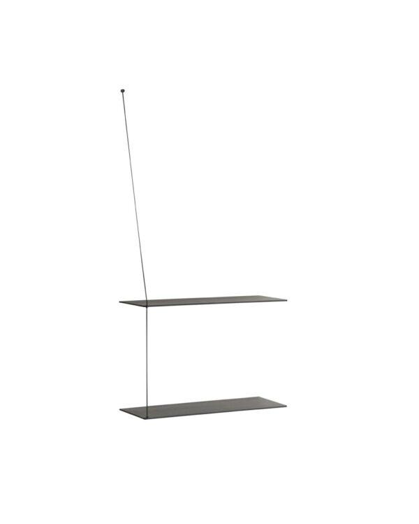 Stedge shelf zwart 60cm (WOUD)