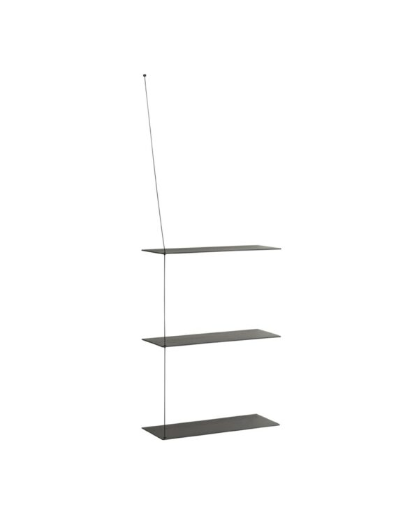 Stedge shelf add on zwart 60cm (WOUD)