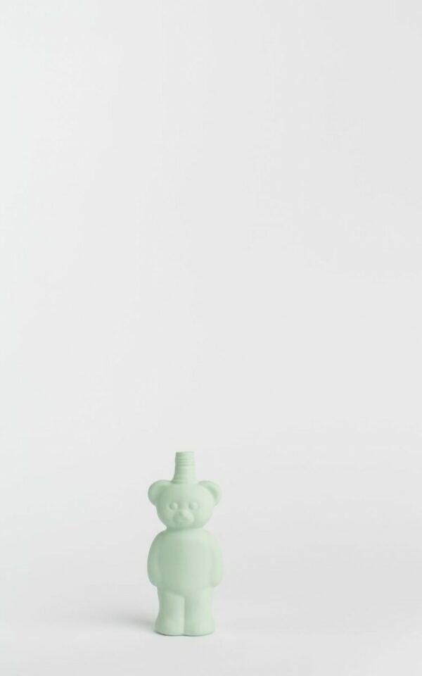 porseleinen flesvaas robijntje (Foekje Fleur)