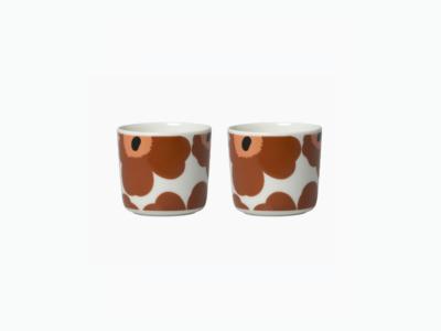 cup set bruin 2dl (marimekko)