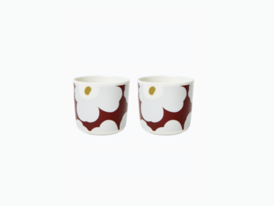 cup set wijnrood 2dl (marimekko)