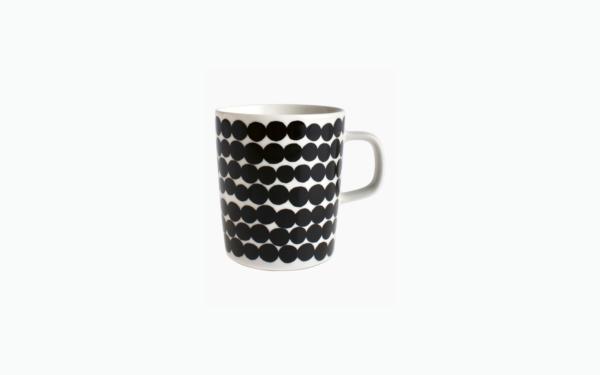 Oiva/ Siirtolapuutarha beker (zwart) (Marimekko)