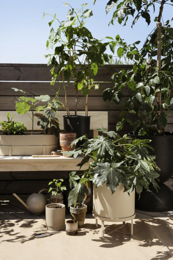bau potten, peka bench, bau balkonbak (Ferm Living)