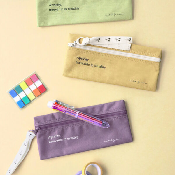 cotton pencase katoenen pennenzak (iconic)